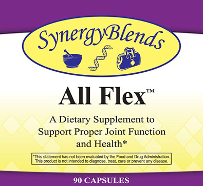 All Flex dietary supplement for proper joint function