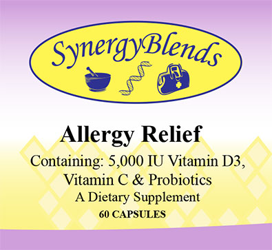 Synerby Blends Allergy Relief supplement