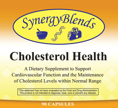 Cholesterol Health by Synergy Blends