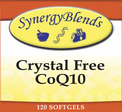 Crystal Free CoQ10 by Synergy Blends