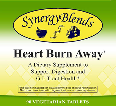 Heart Burn Away, Digestion and GI Tract Health