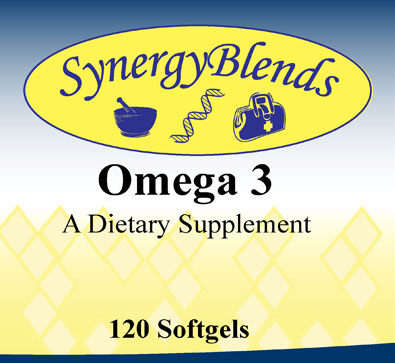Omega 3 Fish Oil supplement by Synergy Blends